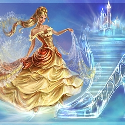 Jigsaw puzzle: glass slipper