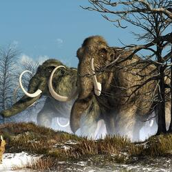 Jigsaw puzzle: Ice Age giants