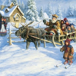 Jigsaw puzzle: Winter joys