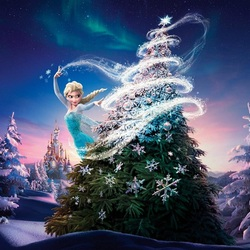 Jigsaw puzzle: Christmas for Elsa