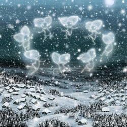 Jigsaw puzzle: Snowflake dance