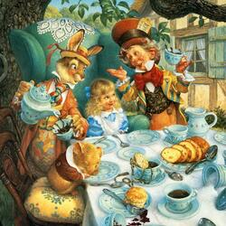 Jigsaw puzzle: Mad Tea Party