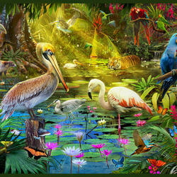 Jigsaw puzzle: In the animal world