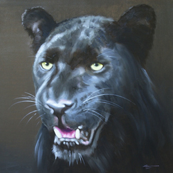 Jigsaw puzzle: Panther