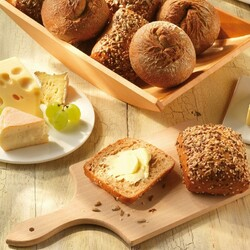 Jigsaw puzzle: Buns with butter and cheese