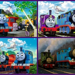 Jigsaw puzzle:    Thomas and his friends