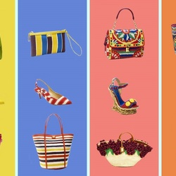 Jigsaw puzzle: Summer accessories from Dolce & Gabbana