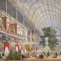 Jigsaw puzzle: World's Fair 1851