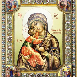 Jigsaw puzzle: Icon of the Mother of God