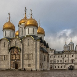 Jigsaw puzzle: the Moscow Kremlin