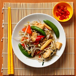 Jigsaw puzzle: Chinese cuisine