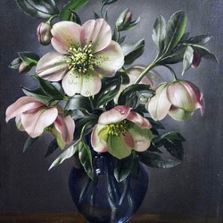 Jigsaw puzzle: Flowers in a vase