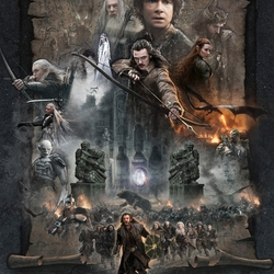 Jigsaw puzzle: The Hobbit. Battle of the five armies