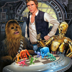 Jigsaw puzzle: star Wars
