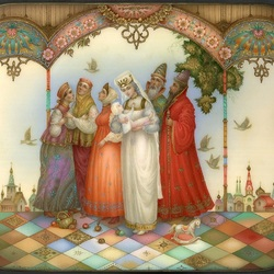 Jigsaw puzzle: The Tale of Tsar Saltan