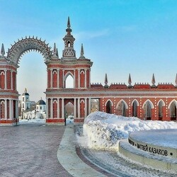 Jigsaw puzzle: Winter in Tsaritsyno