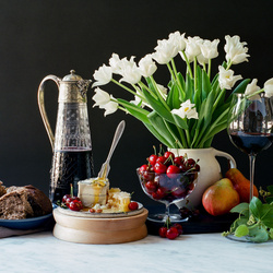 Jigsaw puzzle: Variety of still life