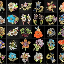 Jigsaw puzzle: Collage of jewels