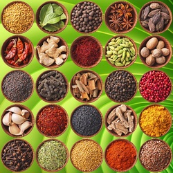 Jigsaw puzzle: Indian spices