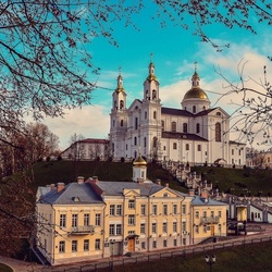 Jigsaw puzzle: View of the city of Vitebsk