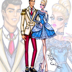 Jigsaw puzzle: Cinderella and Prince Charming