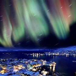 Jigsaw puzzle: Northern Lights
