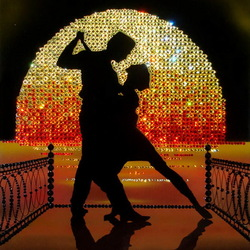 Jigsaw puzzle: Tango on the pier