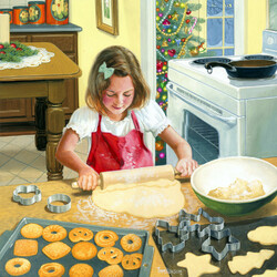 Jigsaw puzzle: Holiday cookies