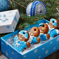 Jigsaw puzzle: Gingerbread men