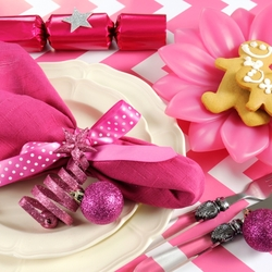 Jigsaw puzzle: New Year's table setting