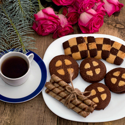 Jigsaw puzzle: Coffee and biscuits