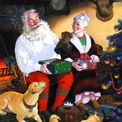 Jigsaw puzzle: Gift for Santa