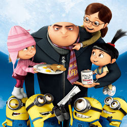 Jigsaw puzzle: Despicable Me Family