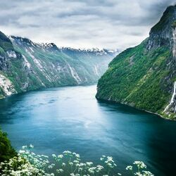 Jigsaw puzzle: Fjords of Norway
