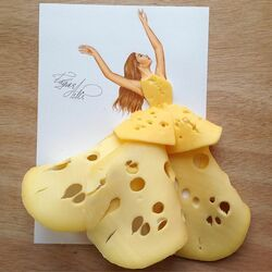 Jigsaw puzzle: Cheese Queen