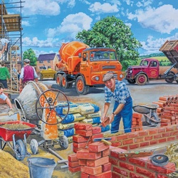 Jigsaw puzzle: Construction