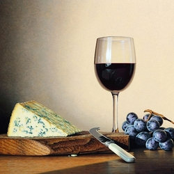 Jigsaw puzzle: Red wine