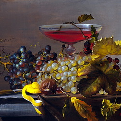 Jigsaw puzzle: Still life with red wine