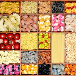 Jigsaw puzzle: Italian pasta collection