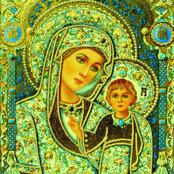 Jigsaw puzzle: Madonna and child