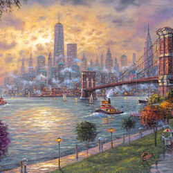 Jigsaw puzzle: Memories of New York
