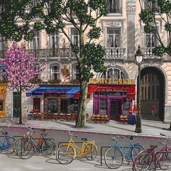 Jigsaw puzzle: Streets of Paris