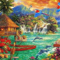 Jigsaw puzzle: Vacation dreams