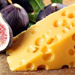 Jigsaw puzzle: Figs and cheese