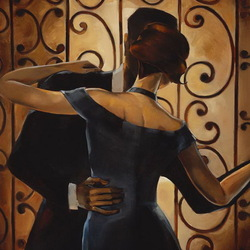 Jigsaw puzzle: Dance for two