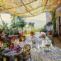 Jigsaw puzzle: Summer afternoon in Provence