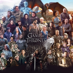 Jigsaw puzzle: Game of Thrones
