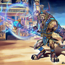 Jigsaw puzzle: Anhur: Guardian of the Temple