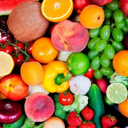 Jigsaw puzzle: Fruit and vegetable