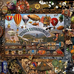 Jigsaw puzzle: World of travel